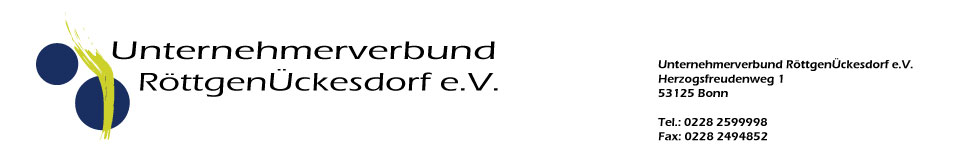 Unternehmerbund Bonn-Röttgen und Ückesdorf
